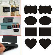 Mini Chalkboard Blackboard Wedding Stickers Craft Kitchen Jam Jar Label Tag