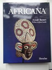 Arnold Bamert Africana Art Tribal Editions Herscher 1980 Afrique Noire J. Laude