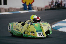 648096 Action Motorcycle  Sidecar Road Race A4 Photo Print