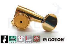 GOTOH SG381-05L HAPM 6L guitar machine heads, Gold HAPM Magnum Lock