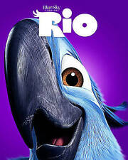 Rio     *New* w/Slip Cover     (Blu-ray/DVD, 2014, 3-Disc Set, Inc Digital Copy)