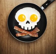 Funny Side Up Skull Egg Mould Fried Egg Breakfast Pancake Mould Ring