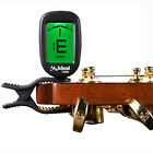 Clip On Acoustic Guitar Tuner Easy to Read LCD Display Chromatic Electric Tuner