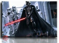 Large Wall Art Canvas Picture Print of Darth Vader Star Wars Framed