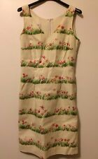 Moschino Cheap And Chic Floral Dress 40 Us 6 &