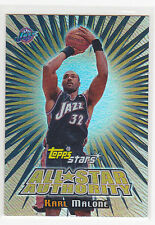 Karl Malone, Jazz 00-01 TOPPS Stars All-Star Authority # 5