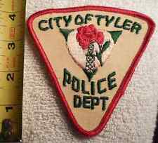 CITY OF TYLER TEXAS POLICE PATCH (EMS, HIGHWAY PATROL, STATE POLICE)
