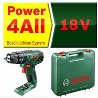 Bosch  PSB 1800 LI-2 18v Combi Drill  + Carry Case- no batterys or charger