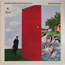 GEORGE HARRISON: Wonderwall GERMANY Apple A-1 / B-1 NEAR MINT Vinyl LP