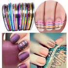 Mixed Colours Pretty Rolls Striping Tape Line DIY Nail Art Decoration Sticker