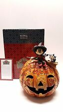 Jim Shore Disney Minnie Mouse A Spell Binding Halloween pumpkin w/ box 4008070