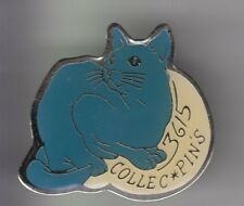 RARE PINS PIN'S .. ANIMAL CHAT CAT KATZE EXPO SALON 3615 COLLECT POITIERS 86 ~CX