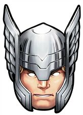 Thor Marvel The Avengers Single Fun CARD Party Face Mask - Hemsworth Superhero