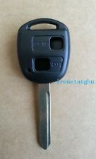 Fits Toyota Yaris Carina Avensis 2 button KEY FOB REMOTE CASE with TOY47 Blade
