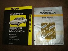 1996 TOYOTA COROLLA SHOP SERVICE REPAIR MANUAL SET [2]  AL362