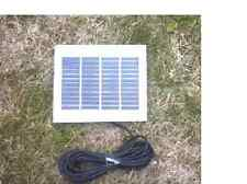 12V1.2W ALLOY SOLAR PANEL FOR CHARGING 8.4V & 9V BATTS