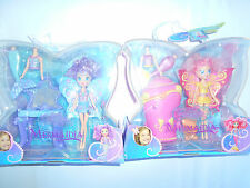 LOTTO 2 BARBIE FAIRYTOPIA MERMAIDIA SIRENA J0732