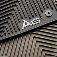 NEW OEM AUDI A6 2007-2011 All Weather Floor Mats set of 4 Black 4F1061450A041