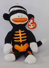 Ty Beanie Tricks the Halloween Sock Monkey MWNMT Rare