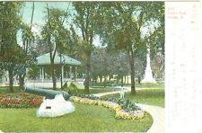 Sterling, IL Central Park 1907