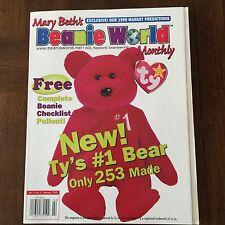 ~Mary BETH's Beanie World MAGAZINE Vol.2 No.5 February 1999 TY babies