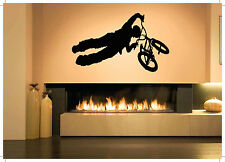 Wall Decor Art Vinyl Sticker Mural Decal Bmx Bike Parts Sport Bicycle Set SA509