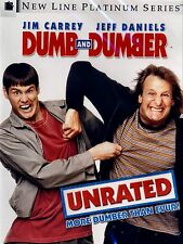 BRAND NEW DVD //Dumb and Dumber // Unrated /Jim Carrey, Jeff Daniels