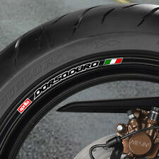APRILIA DORSODURO WHEEL RIM STICKERS - 750 SMV