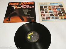 Tom Jones Live in Las Vegas PAS 71031 parrot London LP RARE record vinyl album