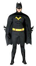 Costume Carnevale/Halloween Uomo Pippistrello Batman 80767 tg. Unica/NUOVO