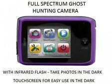 FULL SPECTRUM TOUCHSCREEN CAMERA With INVISIBLE IR FLASH Ghost Hunting Equipment