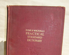 Funk & Wagnalls Practical Standard Dictionary of the English Language 1938