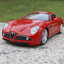 Alfa Romeo 8C 1:32 Sound&Light Alloy Diecast Car Model Collection&Gifts Red Toys