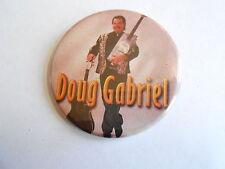 Cool Vintage Doug Gabriel Branson MO Elvis Tribute Impersonator Souvenir Pinback
