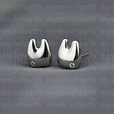1 Pair Teeth Shape Earrings Dental Dentist Oral Tooth Girl's Ear Jewelry Dangler