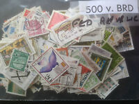 500 Different Germany Federal Republic Stamp Collection
