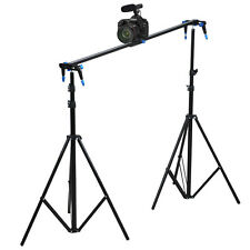 "Pro 48"" 120cm DSLR Camera Slider Dolly Track Video Stabilizer Camcorder Studio"