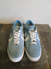 Converse All Star Blue/White Suede Sneakers Women's Size 8.5