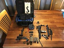 DJI OSMO Tons Of EXTRAS. GP Case. 2 Xtra Batteries. Bike Mount.Z-axis. Rode Mic.