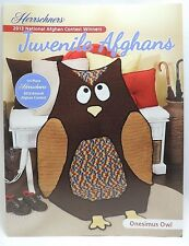 New Herrschners Juvenile Afghans 2013 Crochet Award Winners Pattern Book Owl