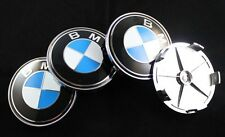 BMW ALLOY WHEEL CENTRE CAPS 68MM FOR E39  5 SERIES CARS