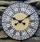 Big Ben clock Outdoor indoor Garden Wall Clock Hand Painted clock 30cm 1182