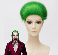 Joker Suicide Squad Wig Green Hair Halloween Costume Cosplay Adult Xmas Party