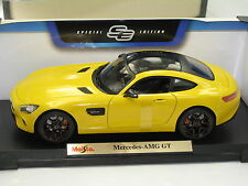 MERCEDES-BENZ AMG  GTCUSTOM  YELLOW NEW IN BOX