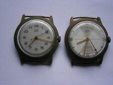 Trabajo Lote De VINTAGE GENTS Ruhla relojes relojes mecánicos Repuestos O Reparación