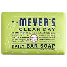 Mrs. Meyers Clean Day Daily Bar Soap, Lemon Verbena 5.3 oz (Pack of 6)