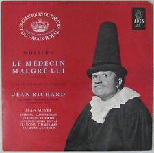 Molière 33 tours 25 cm Le médecin malgré lui Jean Richard