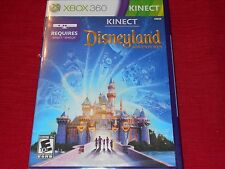 DISNEYLAND ADVENTURES XBOX 360 KINECT  FACTORY SEALED!!!  C@@L!!! SHIPS FAST!!!