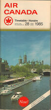 Air Canada system timetable 4/28/85 [5012] Buy 2 Get 1 Free