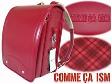 Backpack Randoseru School Bag COMME CA ISM RED NEW JAPAN Free Shipping
